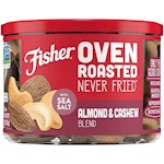 Fisher Oven Roasted Never Fried Almond & Cashew Blend (1 Unit)