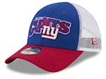 New York Giants NFL New Era 9Forty Youth Trucker Snapback Hat (1 Unit)