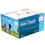 Easy Touch Insulin Syringes 30 Gauge .3cc 1/2 in - 100 ea (1)
