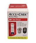Accu-Chek Aviva Plus Blood Glucose Test Strips 50ct NFRS (1 box)