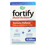 Nature's Way - Fortify Dual Action Immune Defense - Probiotics and Vitamin C - 30 Veg. Capsules (1)