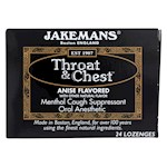 Jakemans Throat and Chest Lozenges - Anise - 24 Pack (1)