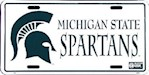 Michigan State Spartans NCAA License Plate (1 Unit)