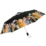 Dog Compact Umbrella - Auto-Open Polyester Canopy And Wind-Resistant Frame (1)