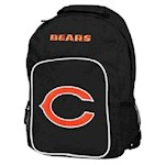 "Chicago Bears NFL Concept One ""Southpaw"" Black Color Backpack (1 Unit)"