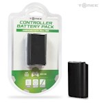 Rechargeable Controller Battery Pack for Xbox 360 (Black) - Tomee (1 Unit)