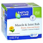 Earths Care Muscle and Joint Rub - 2.5 oz (1)