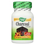 Nature's Way - Activated Charcoal - 280 mg - 100 Capsules (1)