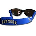 Milwaukee Brewers MLB Neoprene Strap For Sunglasses/Eye Glasses (1 Unit)
