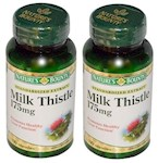 Nature's Bounty Milk Thistle 175 Mg Capsules 2 Bottle Pack (1 Unit)