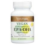 Spectrum Essentials Vegan Ultra Omega - 3 EPA and DHA Capsules - 60 Soft Gels (1)