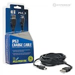 PS3/ PSP/ PC Mini USB Cable 10 Feet- Hyperkin (1 Unit)