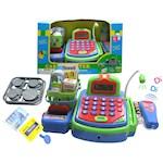Cash Register Play Set Includes Register, Calculator, Food & Coins (1)