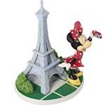 Minnie Rocks The World Magnifique Minnie Figure - Hand-Painted And Porcelain (1)