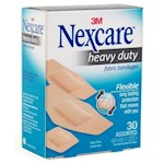 Nexcare Heavy Duty Fabric Bandages, Assorted Sizes (1 Unit)