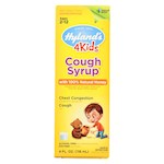 Hylands Homeopathic Cough Syrup - 100 Percent Natural Honey - 4 Kids - 4 oz (1)