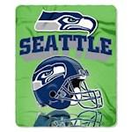 "Seattle Seahawks NFL Northwest ""Mirror"" Fleece Throw (1 Unit)"