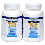 Absolute Nutrition - Thyroid T-3 - 60 Capsules Each / Pack of 2 (1)