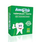 Amazing Temporary Missing Tooth Kit Replacement Temp Dental 25% more than others (1 Each)