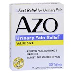 Azo Standard Urinary Pain Relief - 30 Tablets (1)