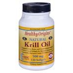 Healthy Origins Krill Oil - 500 mg - 120 Softgels (1)