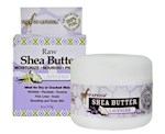 Out of Africa Lavender Raw Shea Butter, 4 Ounce Jar (1 Unit)