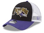 Baltimore Ravens NFL New Era 9Forty Youth Trucker Snapback Hat (1 Unit)