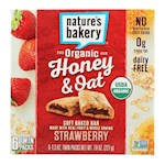 Nature's Bakery Organic Honey & Oat Soft Baked Bars Strawberry (1 Unit)