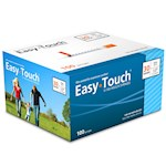 Easy Touch Insulin Syringes 30 Gauge 1cc 1/2 in - 100 ea (1)