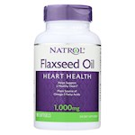 Natrol Omega-3 Flax Seed Oil - 1000 mg - 90 Softgels (1)