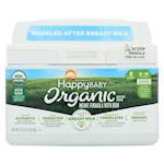 Happy Baby Organic Infant Milk Based Formula Powder - with Iron - Pack of 4 - 21 oz (4)