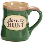 "Born To Hunt 4.75"" Tall Coffee Mug - Sportsman Cup Has Funny Serenity Prayer (1)"