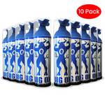 Portable Oxygen Can, Big Ox O2 Oxygen, Natural Energy 6 oz, 75 inhalations, 95% Pure Oxygen (Pack of 10)