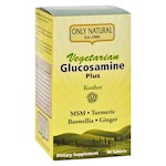 Only Natural Glucosamine - Plus - Vegetarian - 90 Tablets (1)