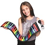 Rock And Roll It Up Flexible Piano - Portable Silicone & Plastic w/ 49 Keys (1)