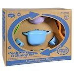 Green Toys Cookware and Dinnerware Set - 27 Piece Set (1)