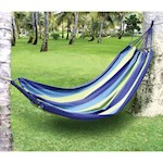 Tree Hammock - Cotton/Poly Blend - Attaches w/ Rope Hangers & Holds 250 lbs. (1)
