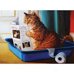 Kitty Cat Throne Jigsaw Puzzle - Humorous Feline Lovers 500 Piece Family Fun (1)