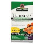 Nature's Answer - Turmeric-3 - 90 Vegetarian Capsules (1)