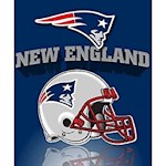 New England Patriots NFL Northwest Fleece Throw (1 Unit)