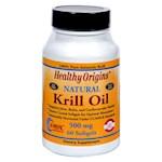Healthy Origins Krill Oil - 500 mg - 60 Softgels (1)