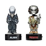 "(Set) Predator & Alien 6"" Tall Body Knockers - Little Movie Creep Creatures (2)"