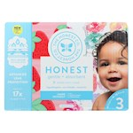 The Honest Company - Club Box - Diapers Size 3 - Rose Blossom and Strawberries - 68 Count (1)