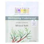 Aura Cacia - Aromatherapy Mineral Bath Meditation - 2.5 oz - Pack of 6 (6)
