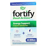 Nature's Way - Fortify Dual Action Energy Support - Probiotics and B Vitamins - 30 Veg. Capsules (1)
