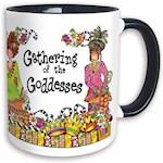 Suzy Toronto Gathering Of The Goddesses 11 oz. Mug - Glossy, Glazed Ceramic (1)