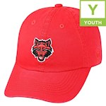 Arkansas State Red Wolves NCAA TOW Crew Youth Adjustable Hat (1 Unit)