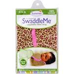 Summer Infant SwaddleMe Adjustable Infant Wrap - Small/Medium 7 - 14 lbs - Leopard (1)