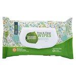 Seventh Generation Free and Clear Baby Wipes - Flip - Top Dispenser - Pack of 12 - 30 Count (12)