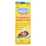 Hylands Homeopathic Cold n Flu - 4 Kids - Complete - Liquid Formula - 4 oz (1)